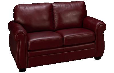 Palliser Borrego Leather Loveseat