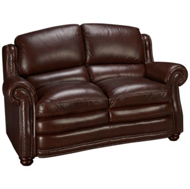 Futura Davenport Futura Davenport Leather Loveseat Jordan S Furniture