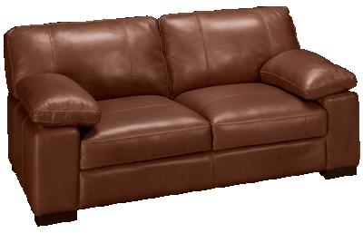 Soft Line Dallas Leather Loveseat
