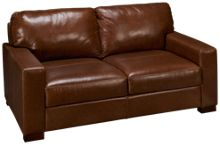 Soft Line Pista Leather Loveseat