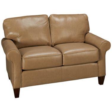 Awesome Flexsteel Westside Leather Loveseat Ibusinesslaw Wood Chair Design Ideas Ibusinesslaworg