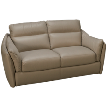 Natuzzi Editions Affetto Leather Loveseat