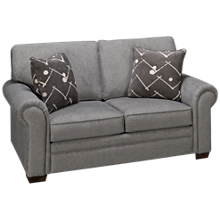 Klaussner Home Furnishings Ronaldo Loveseat