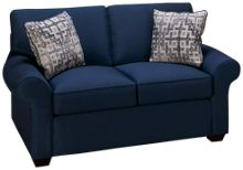 Klaussner Home Furnishings Patterns Loveseat