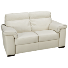 Natuzzi Editions Brivido Leather Loveseat