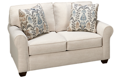 Klaussner Home Furnishings Canter Loveseat