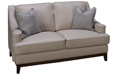 Kuka Boston Leather Loveseat