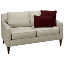 Klaussner Home Furnishings Noho Loveseat