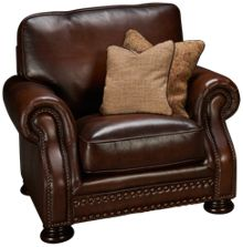 Simon Li Meadows Leather Chair