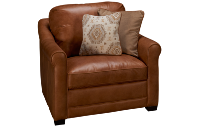 Simon Li Muttak Leather Chair