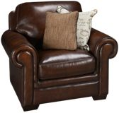 Simon Li Hillsboro Leather Chair