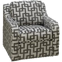 Capris Scroll Arm Swivel Chair