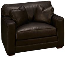 Klaussner Home Furnishings Homestead Leather Chair