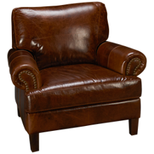 Soft Line Memphis Leather Chair