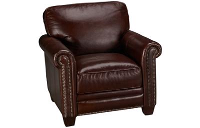 Futura Cordovan Leather Chair with Nailhead