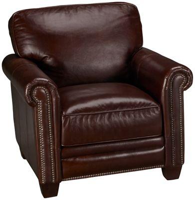 Futura Cordovan Leather Chair