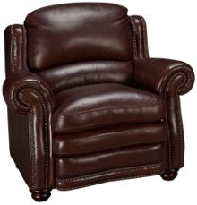 Futura Davenport Leather Chair
