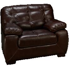 Simon Li Walnut Leather Chair