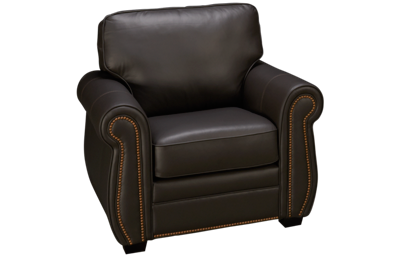 Palliser Viceroy Leather Chair with Nailhead
