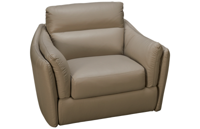 Natuzzi Editions Affetto Leather Chair