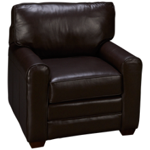 Klaussner Home Furnishings Selection Leather Chair