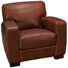 Soft Line Panama Leather Chair