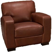 Soft Line Panama Leather Chair