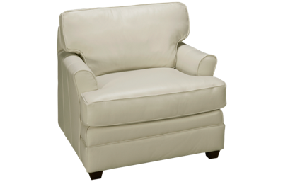 Klaussner Home Furnishings Custom Leather Chair