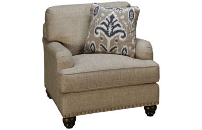 Craftmaster Design Series Chair with Nailhead