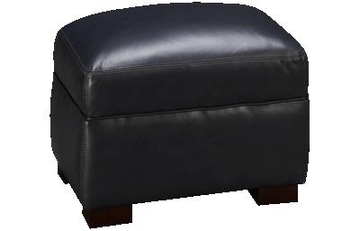 Simon Li El Paso Leather Ottoman