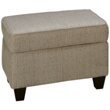 Peak Living Pewter Ottoman