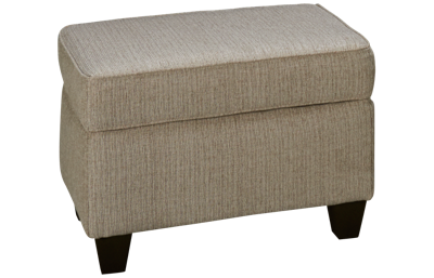 American Furniture Pewter Ottoman