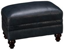 Simon Li Kennedy Leather Ottoman