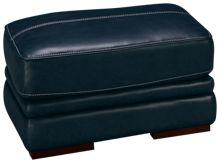 Futura Mansa Leather Ottoman