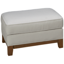 Capris You Design Wood Base Ottoman