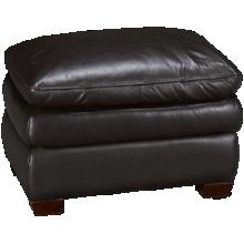Futura Hogan Leather Ottoman