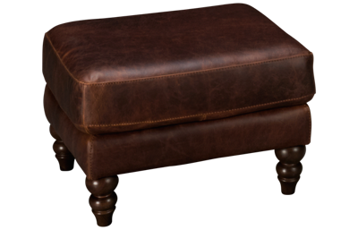 Soft Line Waco Leather Ottoman