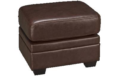 Palliser Borrego Leather Ottoman