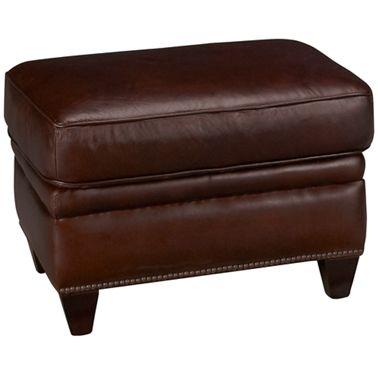 Peachy Futura Cordovan Leather Ottoman Creativecarmelina Interior Chair Design Creativecarmelinacom