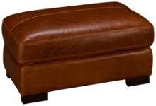 Soft Line Dallas Leather Ottoman