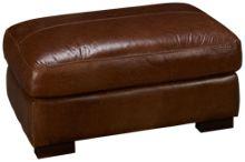 Soft Line Pista Leather Ottoman