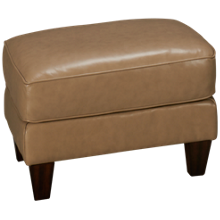 Flexsteel Westside Leather Ottoman