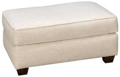 Klaussner Home Furnishings Canter Ottoman