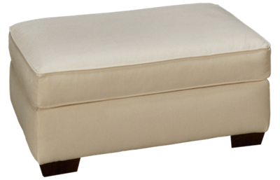 Klaussner Home Furnishings Boden Ottoman