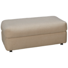 Klaussner Home Furnishings Oliver Ottoman