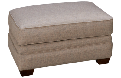 Klaussner Home Furnishings Huntley Ottoman