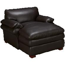 Futura Hogan Leather Chaise