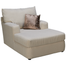 Klaussner Home Furnishings Oliver Chaise