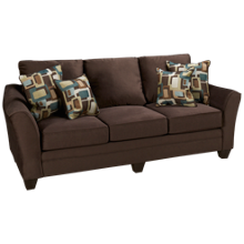 Peak Living Flannel Sofa