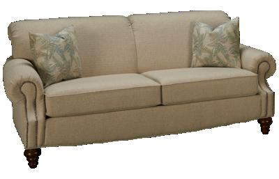 Flexsteel South Hampton Sofa with Nailhead